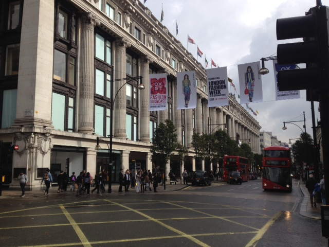 Oxford Street - London Fashion Week