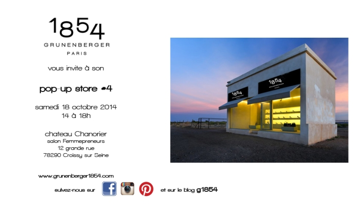 Pop-up store #4 - 18 octobre 2014 - Croissy/Seine